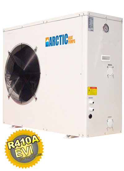 Heat Pump Heating And Cooling Technology With Variable