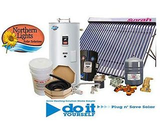 Solar Heating Kits