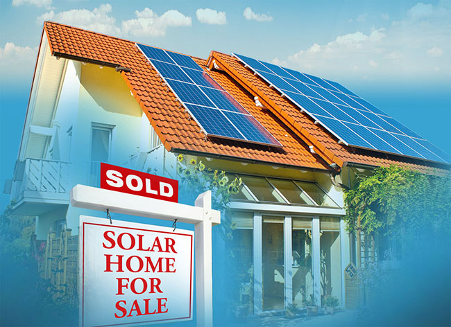 Solar Increase the value of a home