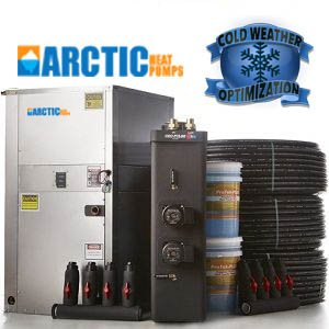 6.0 Ton GeoCool Geothermal Heat Pump Kit with Best Package