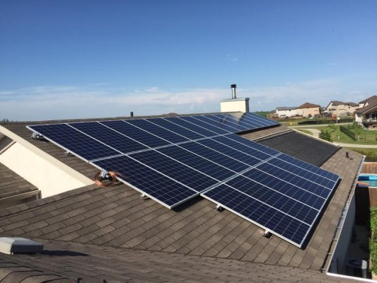 Residential Solar Project in Lorette