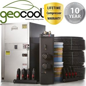 3 Ton Geocool Geothermal Heat Pump with Security and Comfort