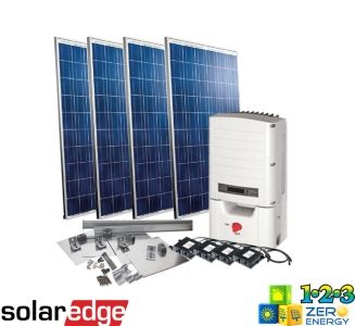 1040 Watt On Grid Solar PV Package - SolarEdge