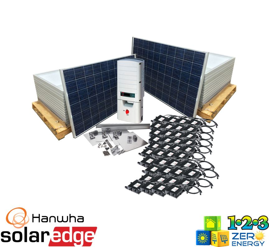 12400 Watt On Grid Solar PV Package - SolarEdge