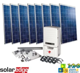 2080 Watt On Grid Solar PV Package - SolarEdge