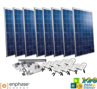 2080 Watt On Grid Solar PV Package - Enphase