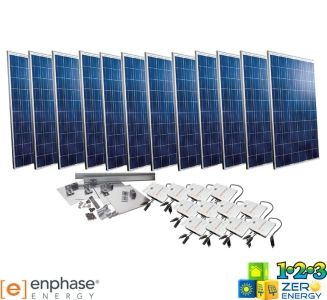 3120 Watt On Grid Solar PV Package - Enphase
