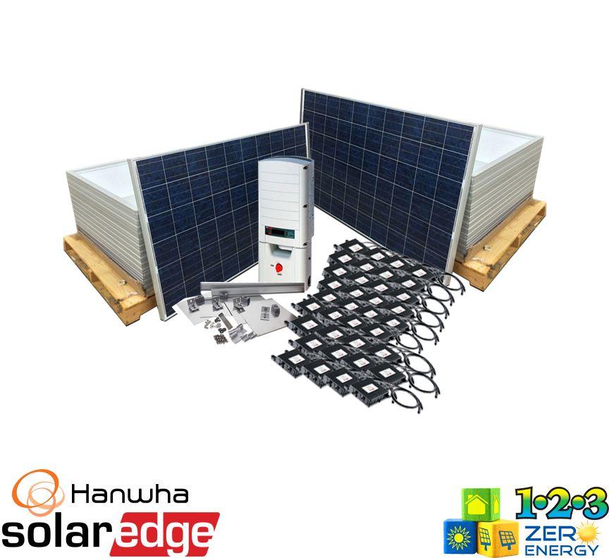 11160 Watt On Grid Solar PV Package - SolarEdge