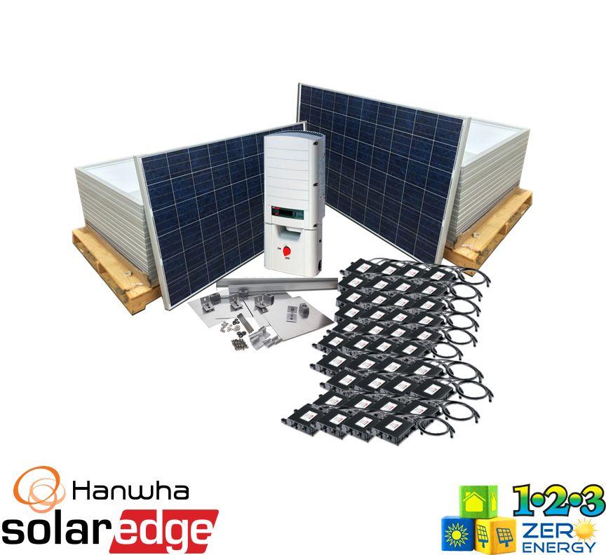 12400 Watt On Grid Solar PV Package - SolarEdge