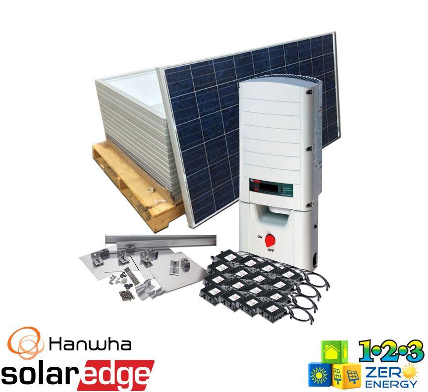 4960 Watt On Grid Solar PV Package - SolarEdge