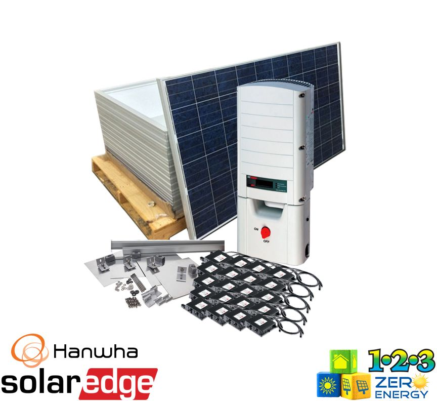6200 Watt On Grid Solar PV Package - SolarEdge