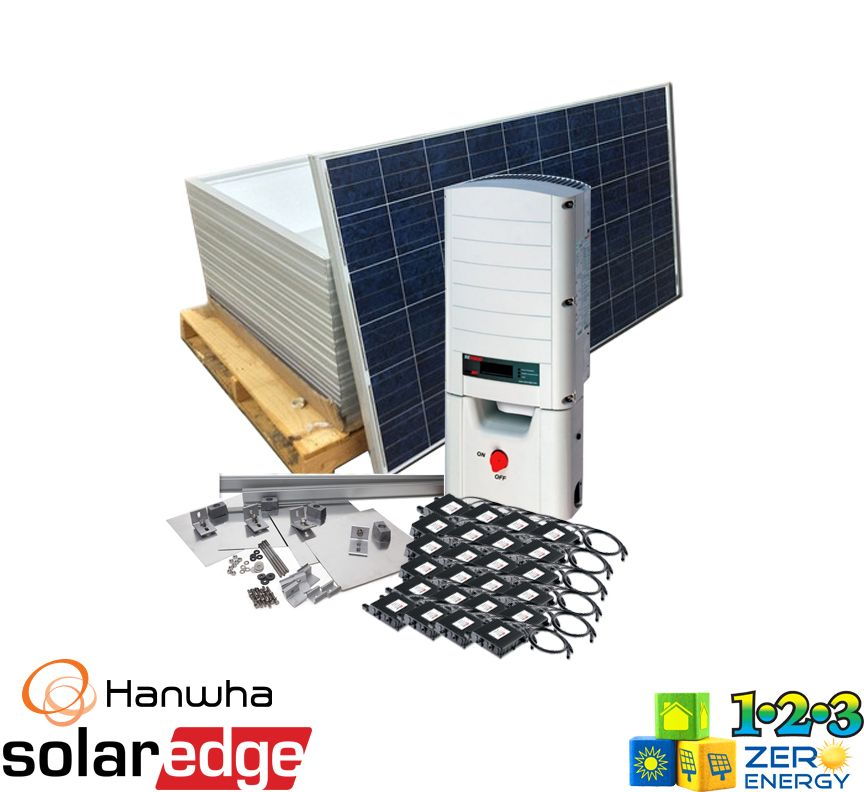 7440 Watt On Grid Solar PV Package - SolarEdge