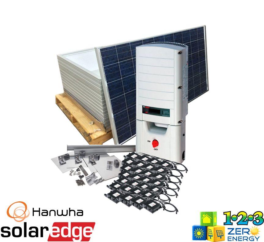 8680 Watt On Grid Solar PV Package - SolarEdge