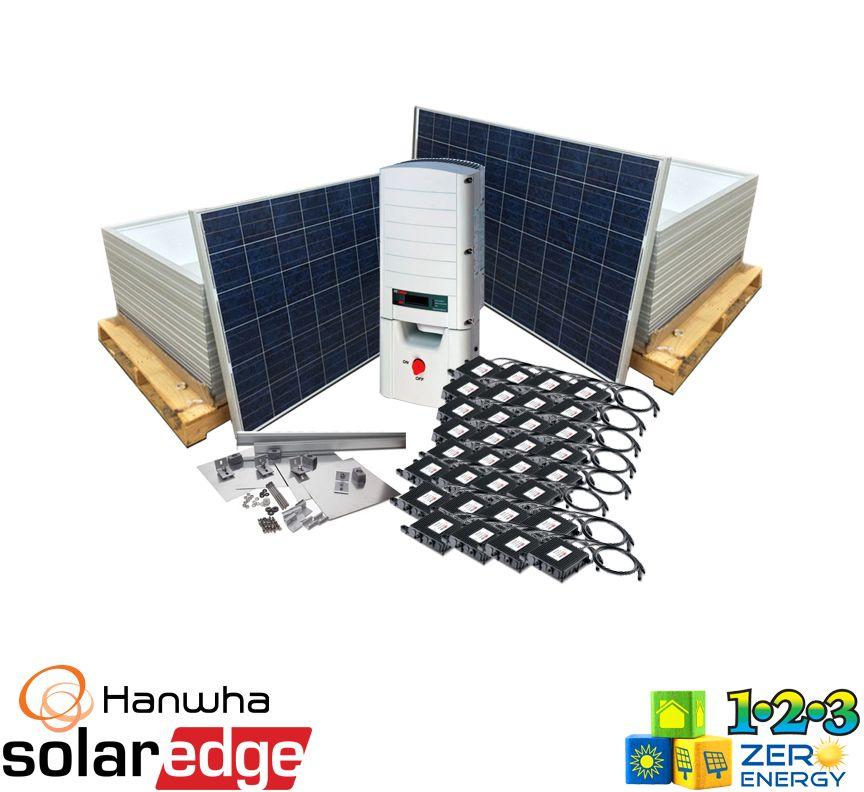 9920 Watt On Grid Solar PV Package - SolarEdge