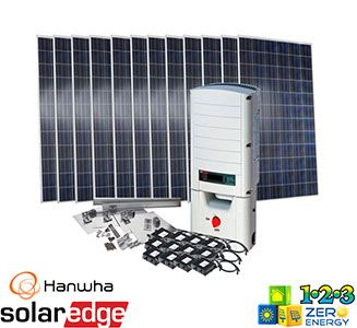 3720 Watt On Grid Solar PV Package - SolarEdge