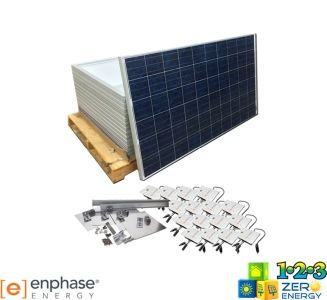 4160 Watt On Grid Solar PV Package - Enphase