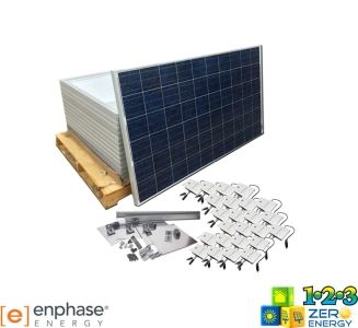 6240 Watt On Grid Solar PV Package - Enphase