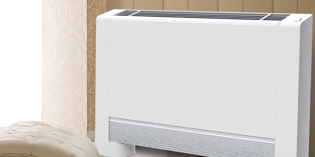 Ultra Thin Fan Coil Unit Air Source Heat Pump