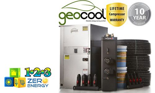 4.0 Ton GeoCool Geothermal Heat Pump System And Package