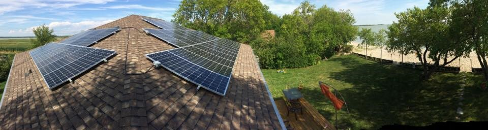 Lakeside Solar Installation in Lundar Beach - 12.42 KW