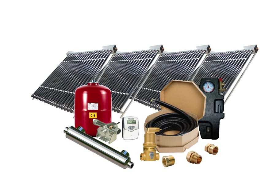 High Performance Solar Pool Vacuum Heating System SPH-4