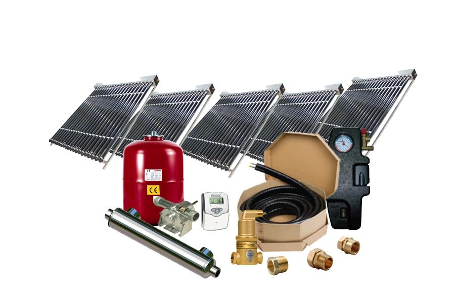 High Performance Solar Pool Vacuum Heating System SPH-5